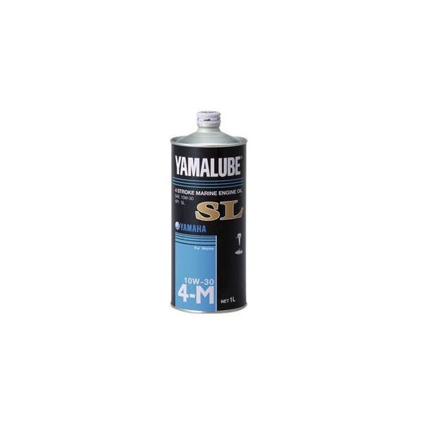 SL規格合格品 4ストローク(ガソリン)マリンオイル SL 10W-30 1L スチール缶